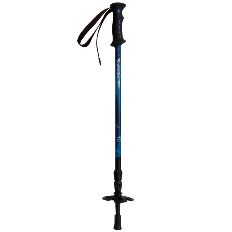 Anti-Shock Adjustable Twist Lock Trekking pole - Blue pattern