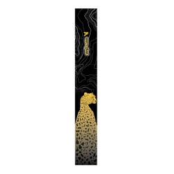 Anti-Shock Adjustable Twist Lock Trekking pole  - Cheetah pattern